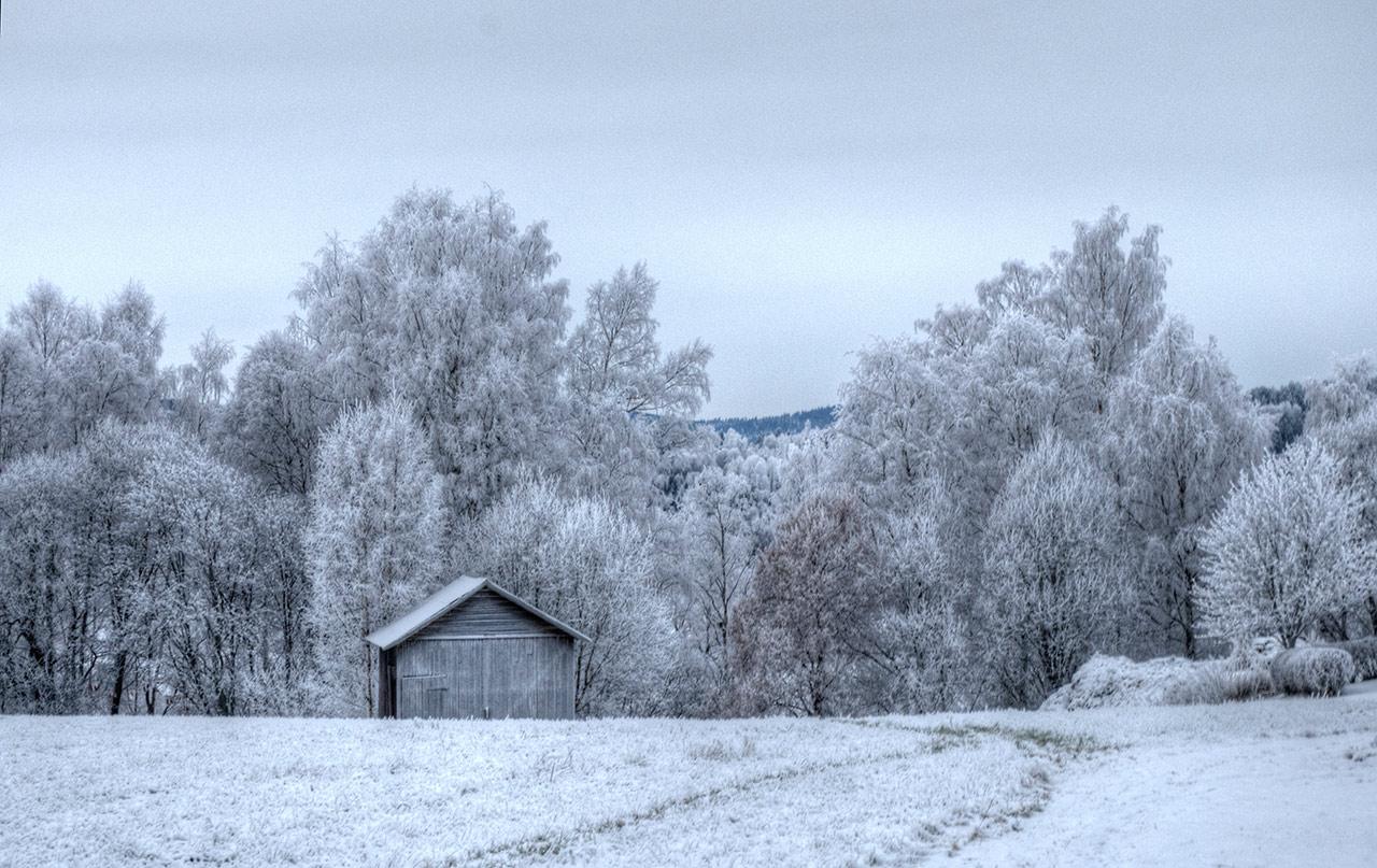 Siljansnäs i december