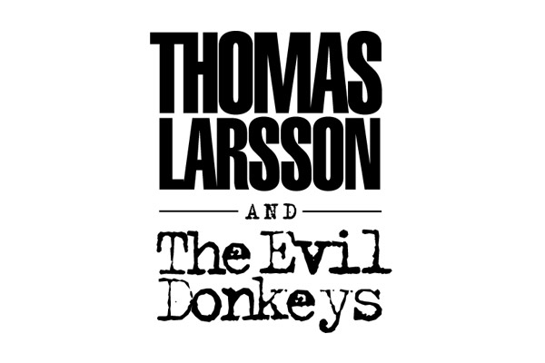Grafisk design - Logo - Thomas Larson and The Evil Donkeys